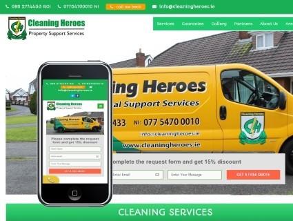 Сайт Клининговой Компании В Дублине
